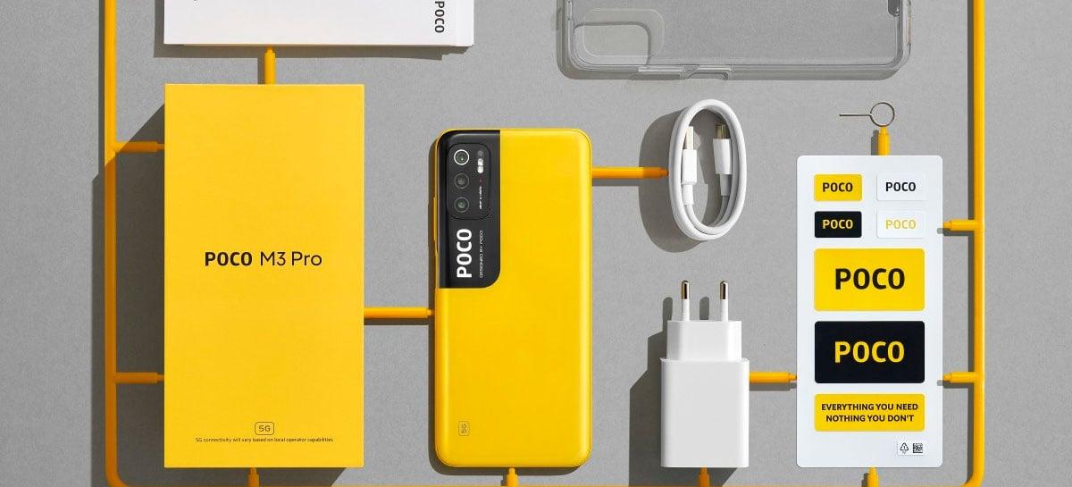 O 5G mais barato! POCO M3 Pro 5G chega por a partir de US$ 195