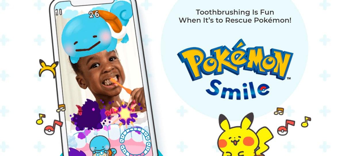 Pokémon Smile pode ajudar a convencer seus filhos a escovarem os dentes - já disponível