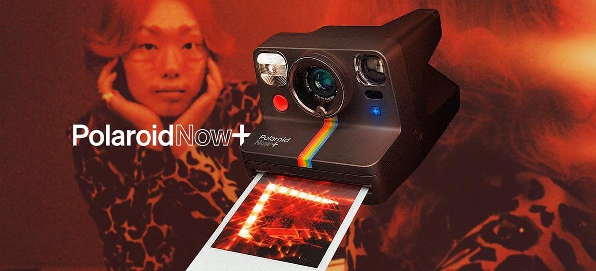 Polaroid lança câmera retrô Polaroid Now+ para você imprimir suas fotos instantaneamente