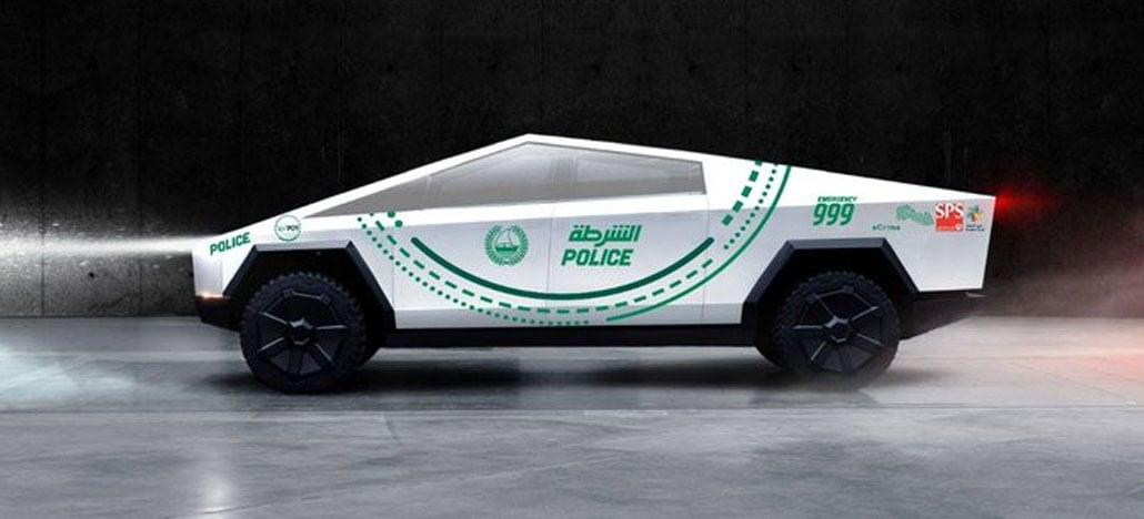 Polícia de Dubai deve ganhar reforço do Cybertruck da Tesla