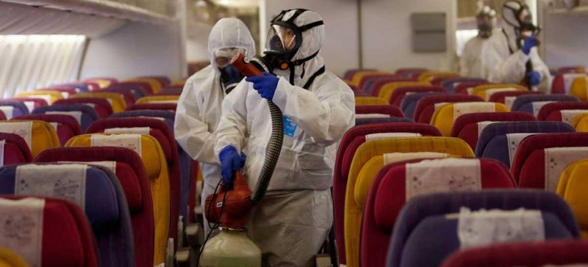 Tosse de infectados pode contaminar a todos dentro de um avião; veja simulação