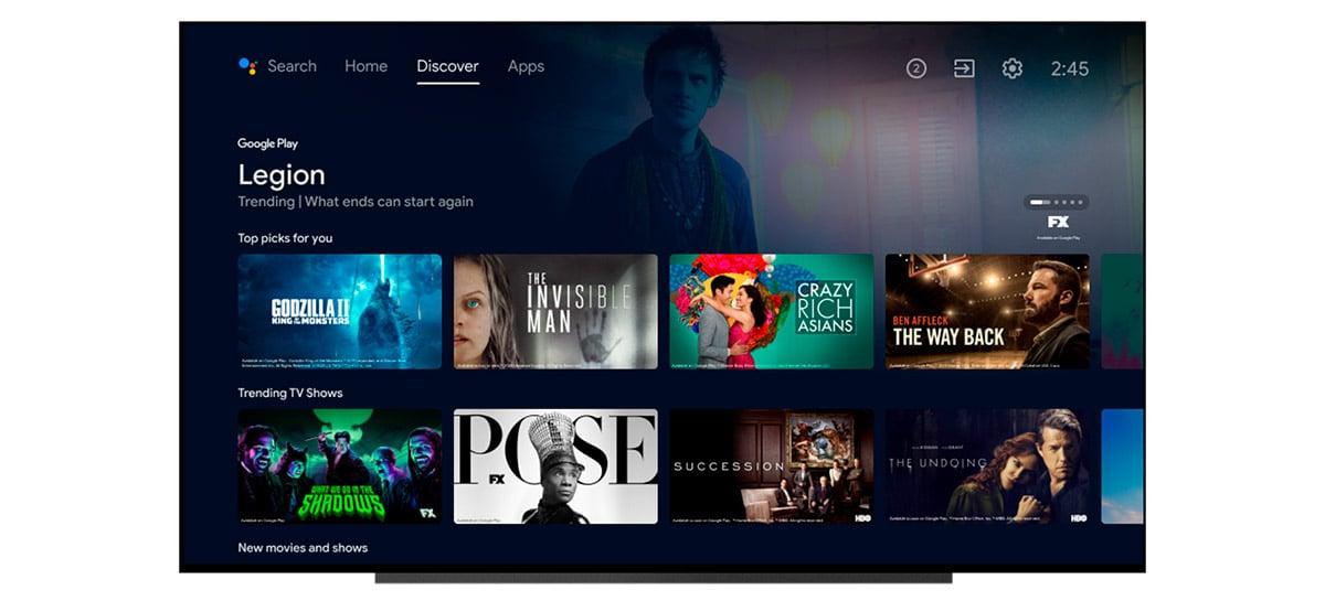 Google atualiza Android TV com interface voltada para recomendações
