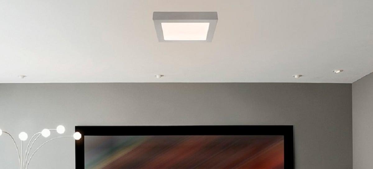 Positivo lança painel LED para compor sua linha de casa conectada