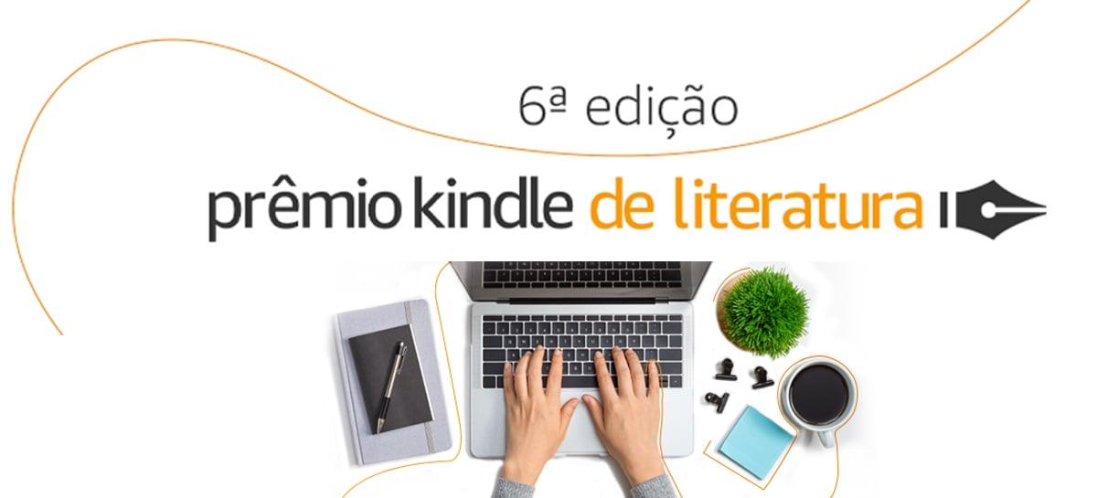 Vencedor do Prêmio Kindle Literatura receberá 50 mil reais e terá livro publicado