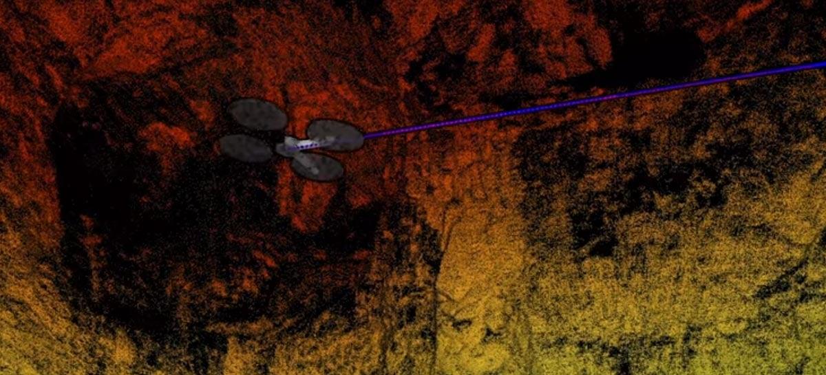 Primeiro drone com sensor LiDAR Nível 4 pode voar totalmente sozinho