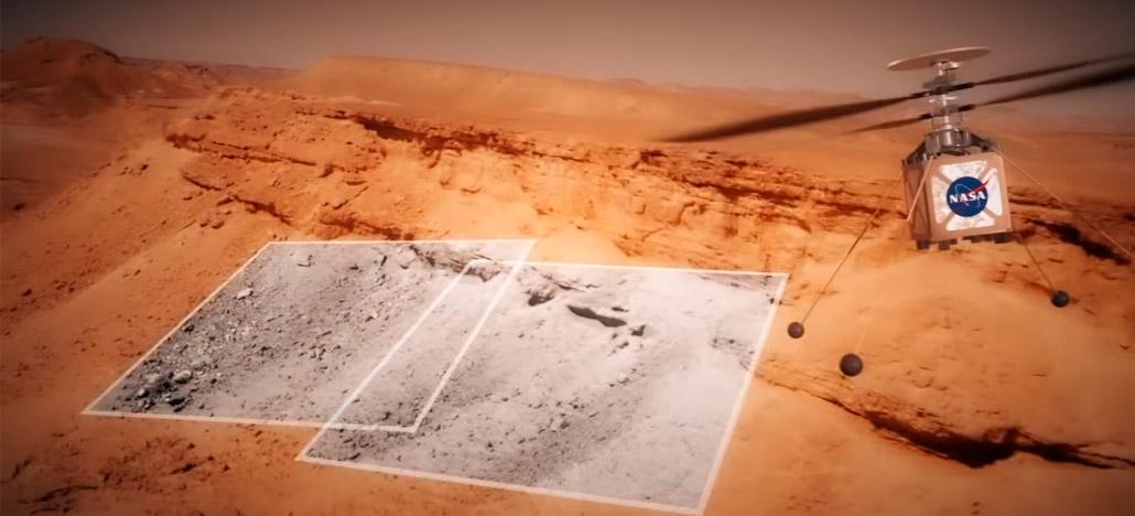 NASA se prepara para enviar seu primeiro drone a Marte