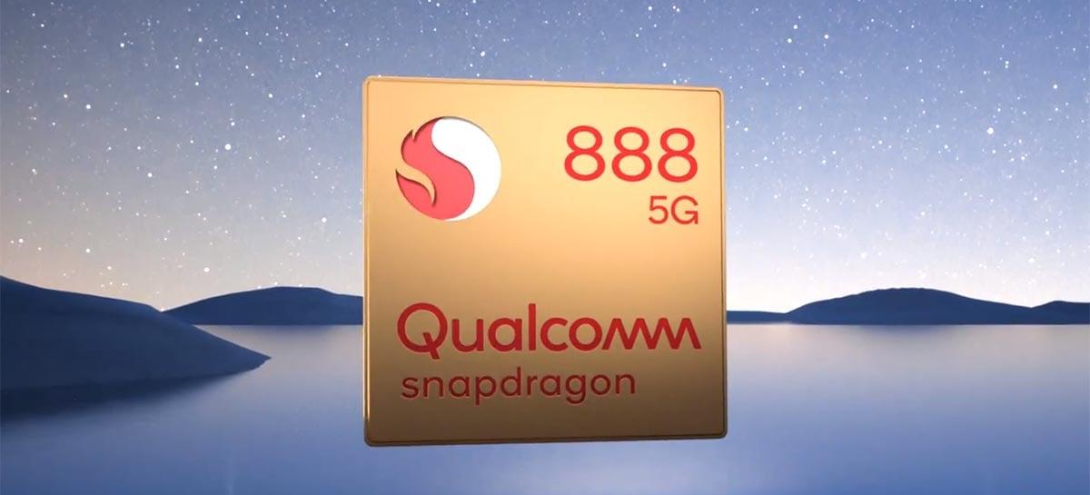 Primeiro smartphone com Snapdragon 895 deve ser lançado ainda em 2021