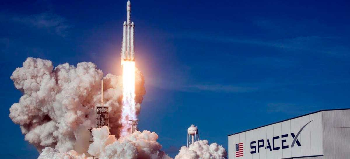 SpaceX fará o seu primeiro voo tripulado no dia 27 de maio