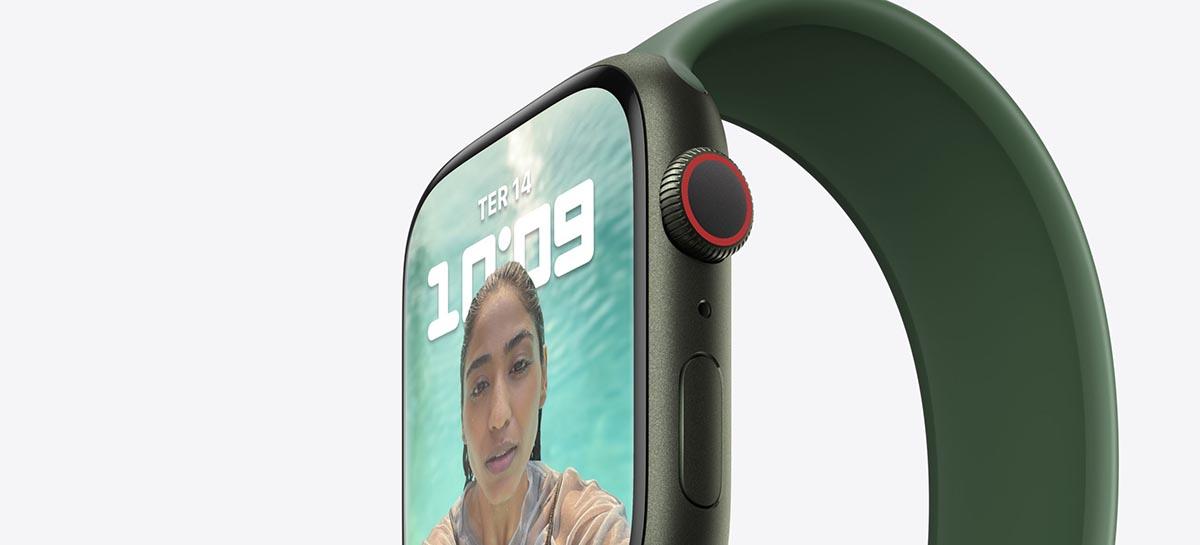 Sem atualização: processador do Apple Watch Series 7 é o mesmo do Series 6