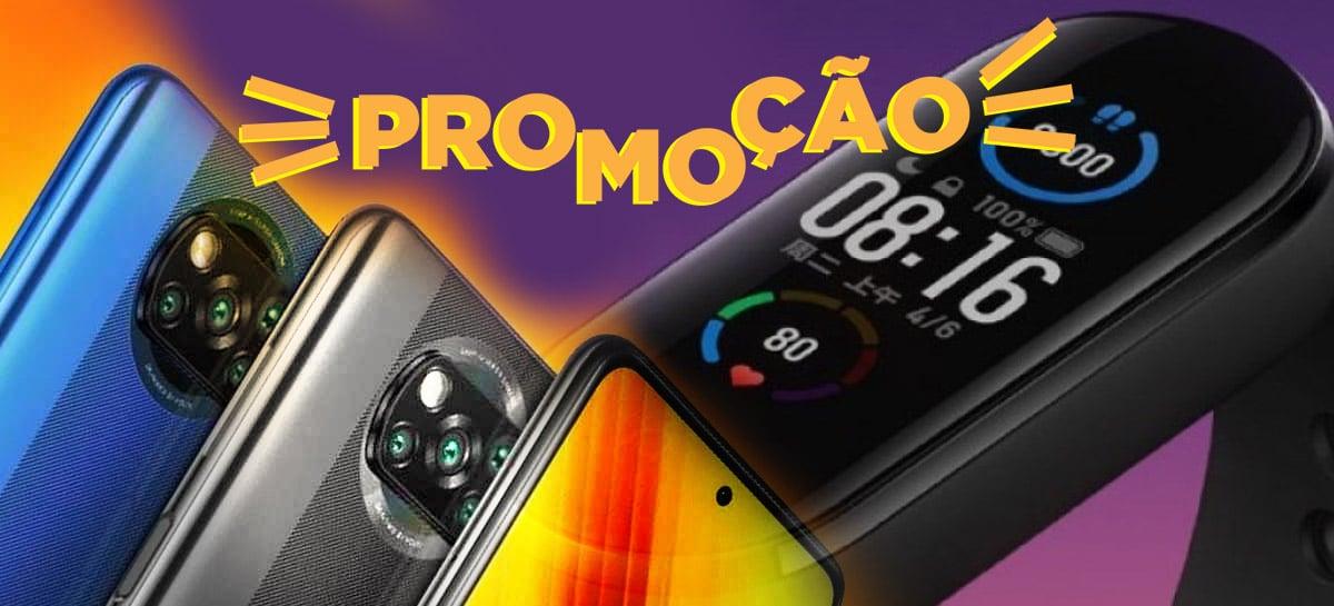 Promoções Banggod: Redmi Note 8 Pro e Mi Band 5 em 6x SEM JUROS para o Brasil!