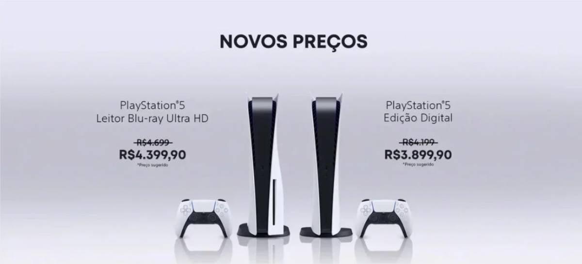 Quem comprou PS5 no preço antigo e ainda não recebeu terá reembolso na Amazon