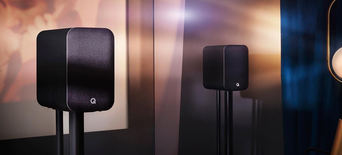 Q Acoustics revela M20, alto-falantes de estante compactos e com ajuste de equalização por posição