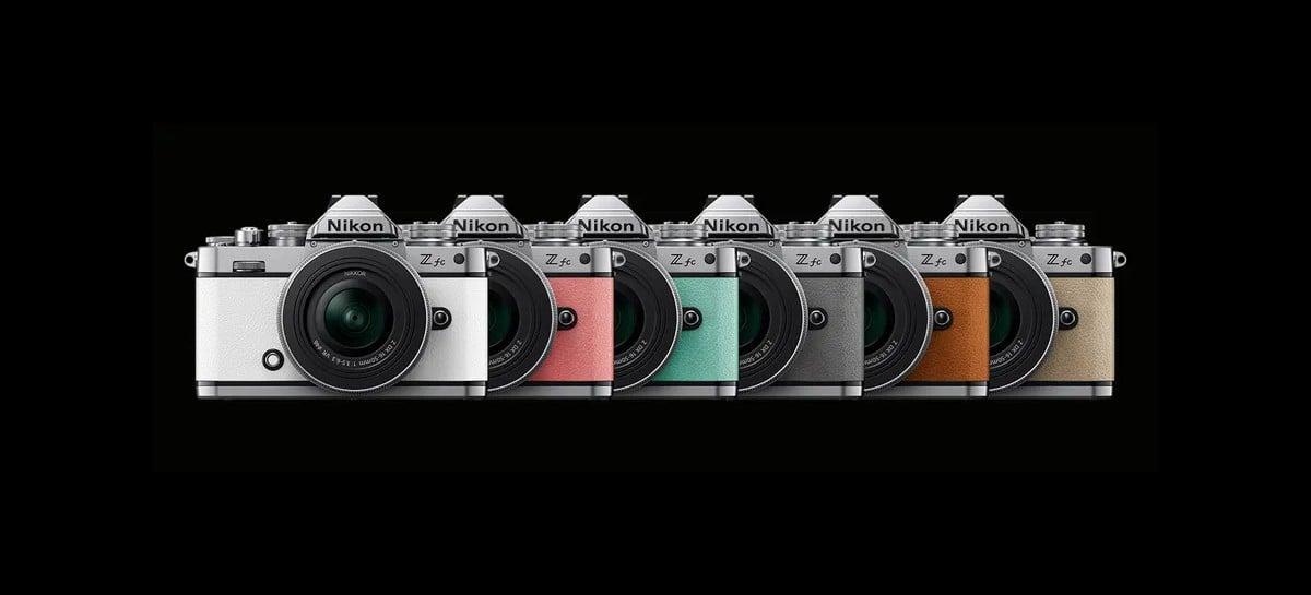 Nikon lançará nova câmera retrô mirrorless em julho