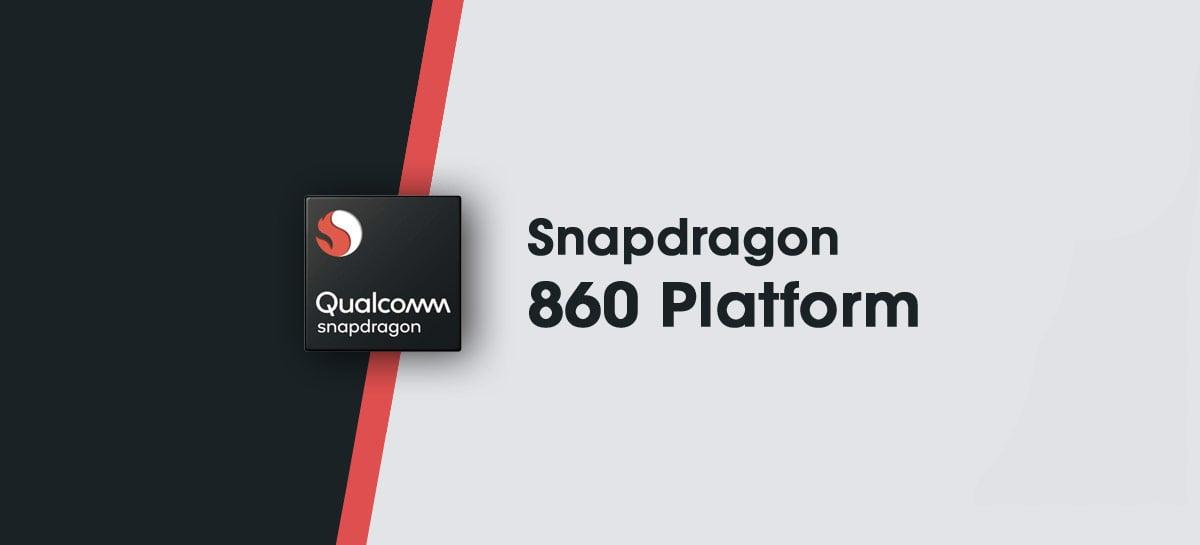 Qualcomm lança Snapdragon 860 oficialmente - uma versão overclockada do 855
