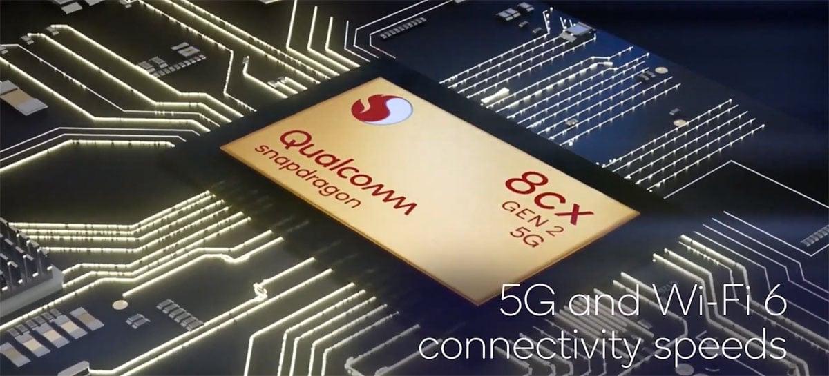 Novo Qualcomm Snapdragon 8cx bate de frente com Core i7 Tiger Lake em teste