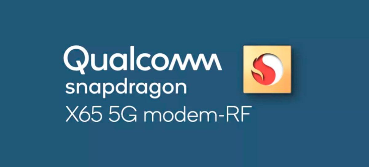 Qualcomm apresenta o modem X65 5G, que alcança até 10Gbps