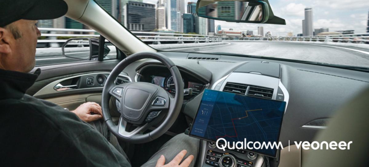 Qualcomm e Veoneer fecham parceria com foco em sistemas de assistência ao motorista