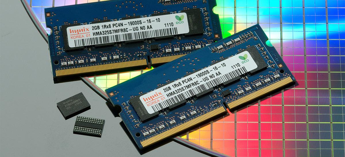 Preço da memória RAM pode aumentar em até 18% no segundo trimestre de 2021