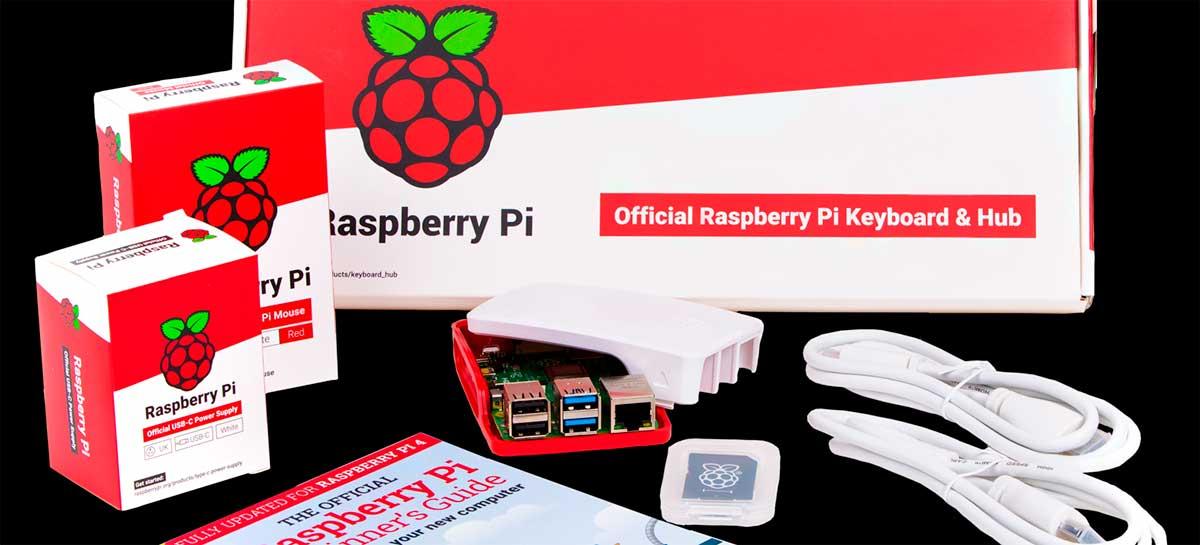 Raspberry Pi 4 de 2GB de RAM está custando US$ 35