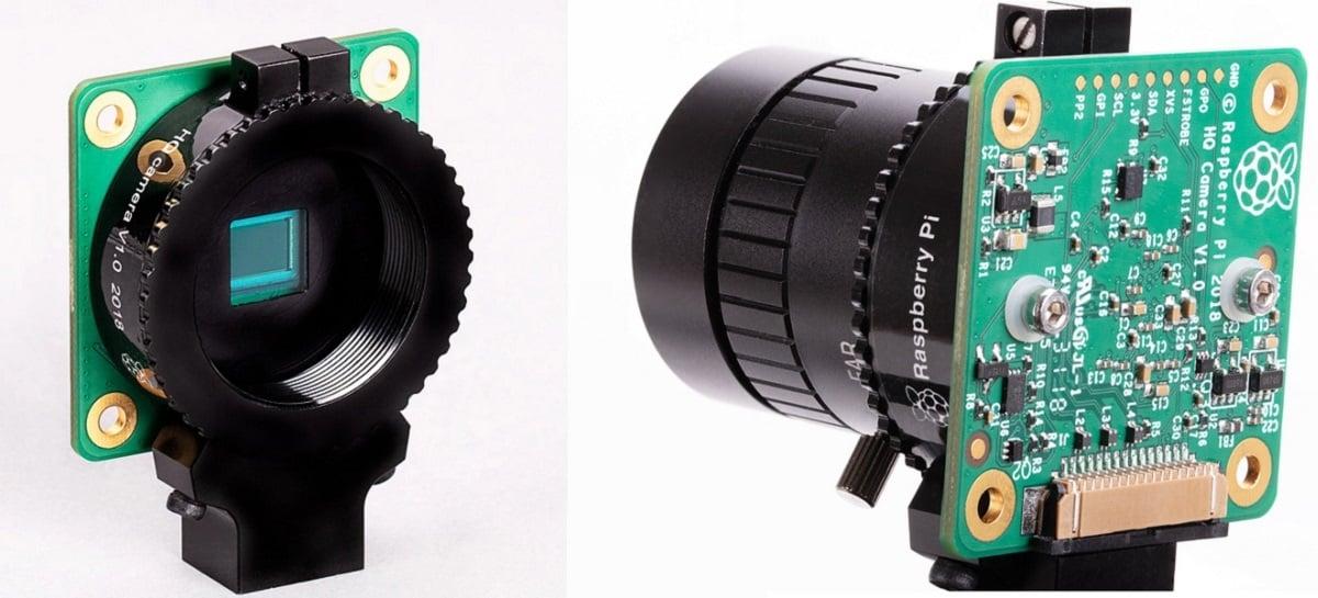 Raspberry Pi lança módulo de câmera de alta qualidade com sensor de 12,3 MP
