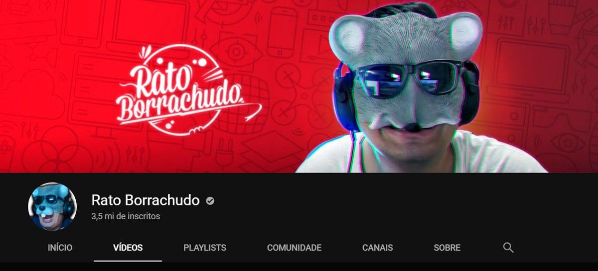 Fim da novela: canal do Rato Borrachudo não será excluído do YouTube