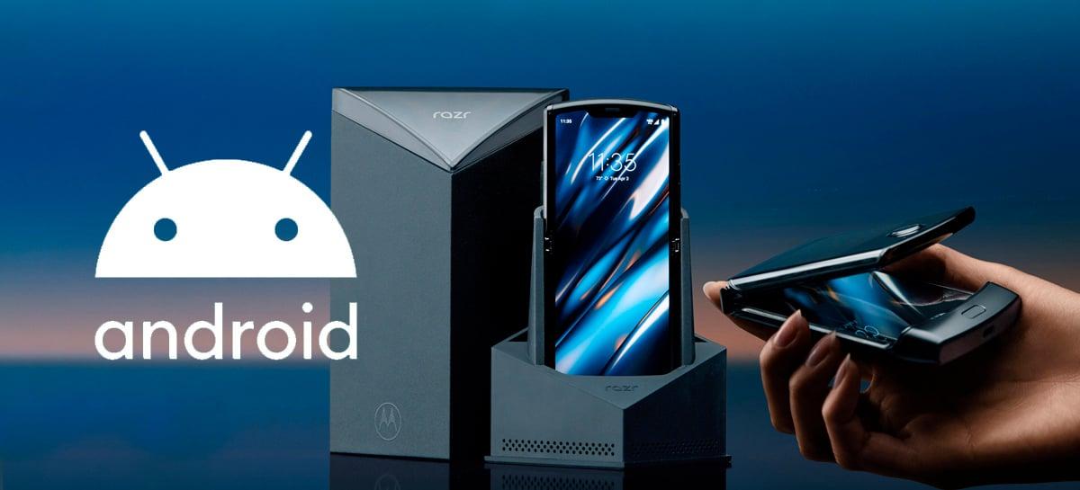 Motorola Razr começa a receber Android 10 no Brasil, com novidades para a tela Quick View