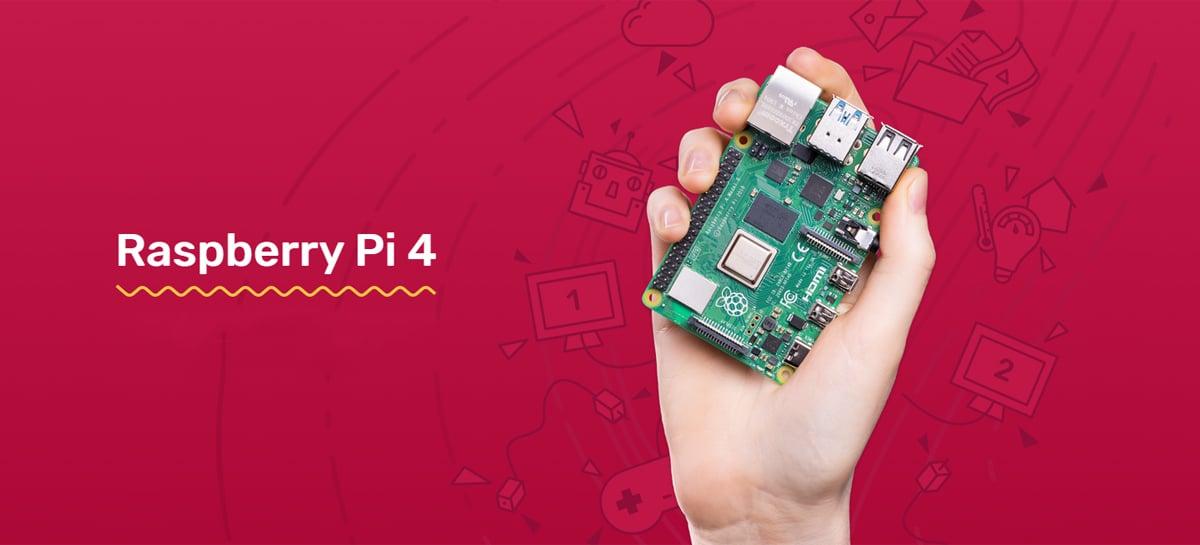 Raspberry Pi 4 com 8GB de RAM chega custando 75 dólares