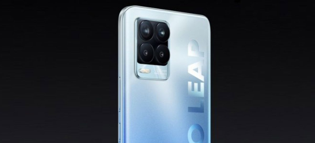 Realme 8 com câmera de 108MP será anunciado dia 24 de março