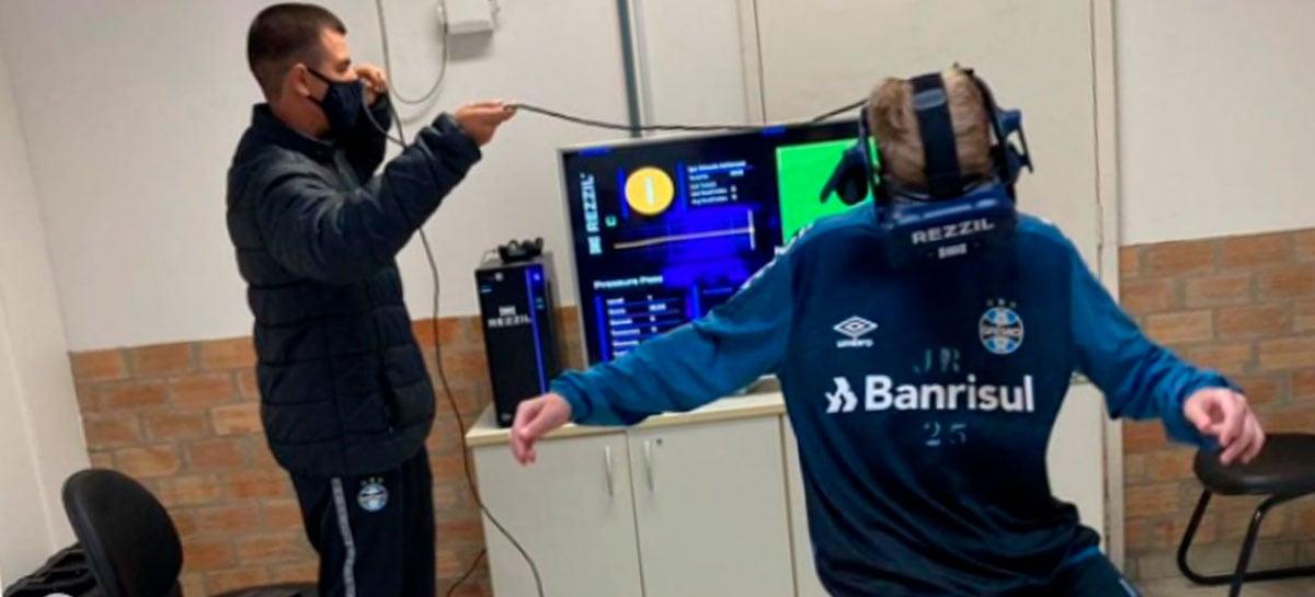 Grêmio está começando a usar óculos de Realidade Virtual em treinos