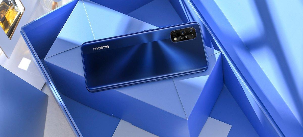 Realme lançará um celular com chip MediaTek Dimensity 1200 5G ainda em 2021