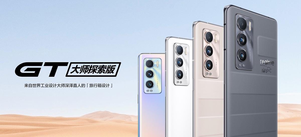 Realme anuncia dois novos smartphones da linha GT Master Edition