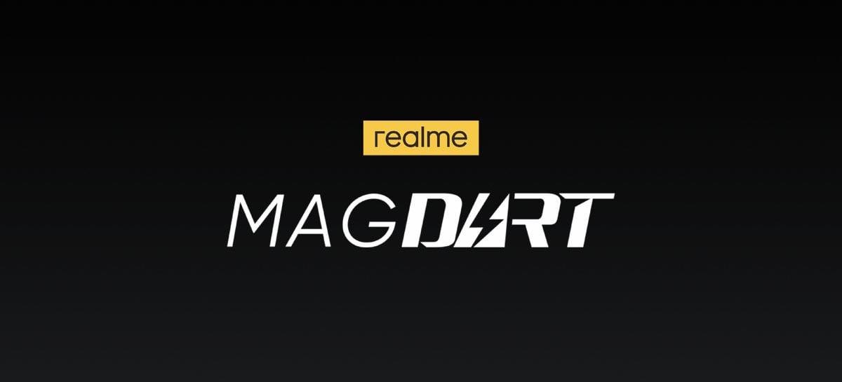Realme lança base de recarga magnética para smartphones