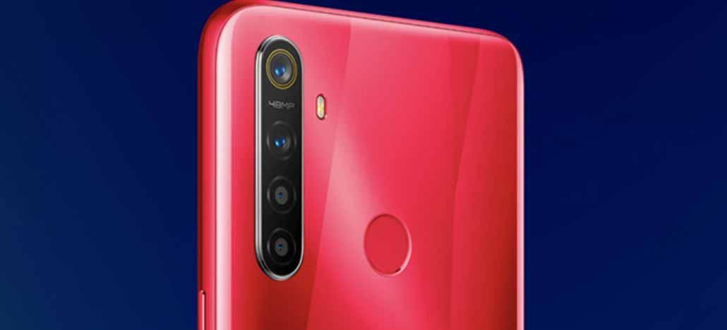 Realme 5s será lançado na semana que vem com quatro câmeras, a principal com 48MP