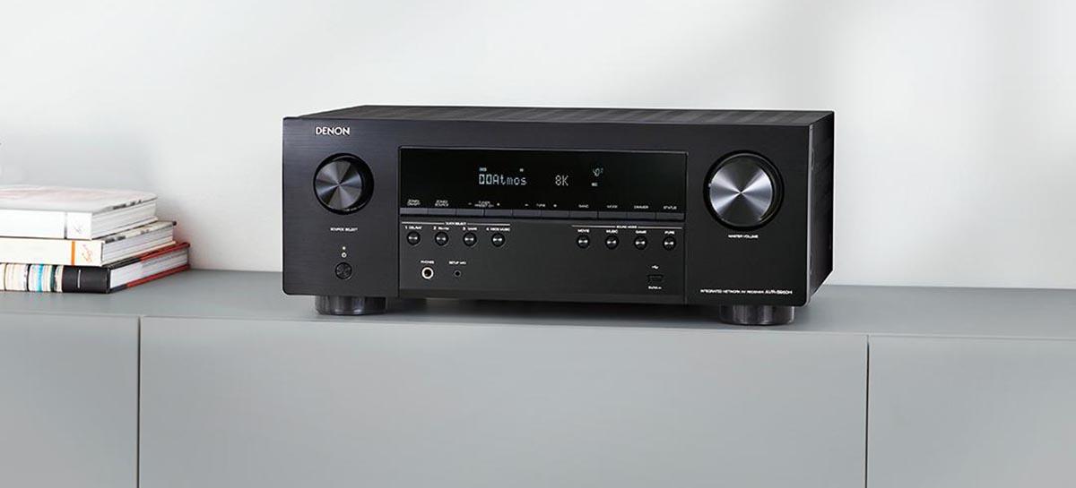 Receptores antigos da Denon e Marantz terão upgrade ao HDMI 2.1 por US $ 600