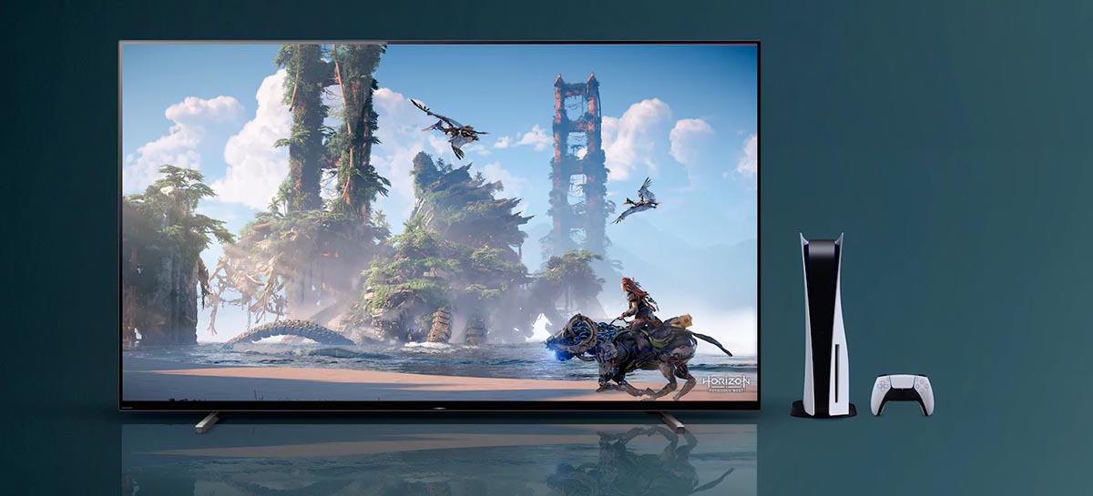 Linha 2021 de TVs da Sony ganha recursos exclusivos para PS5