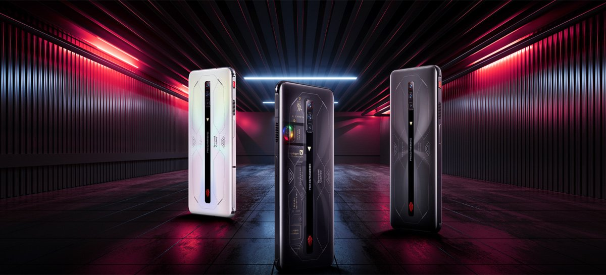 RedMagic 6S Pro é lançado com Snapdragon 888+, até 18GB de RAM e tela de 165Hz