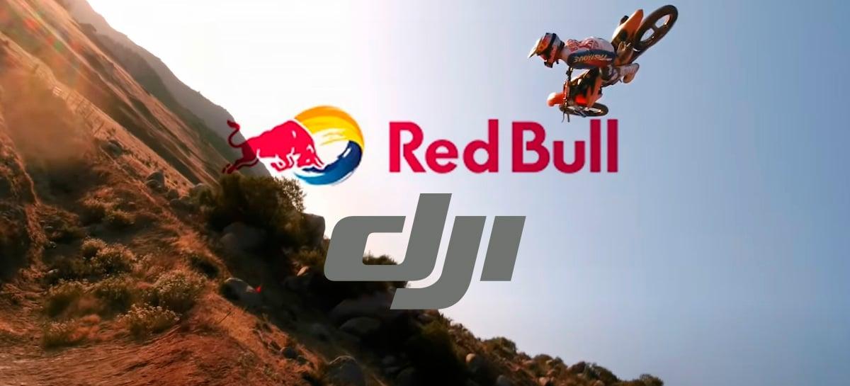 Confira os bastidores do espetacular vídeo da Red Bull e DJI com Motocross e drone FPV