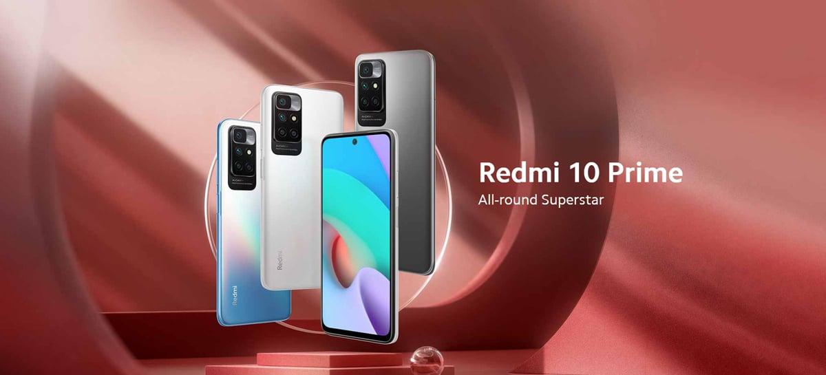 Redmi 10 Prime é anunciado com chip MediaTek Helio G88 e bateria de 6.000mAh