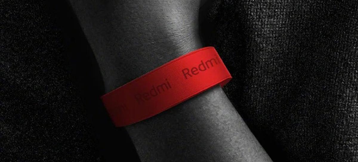 Pulseira inteligente da Redmi deve ser lançada no dia 3 de abril