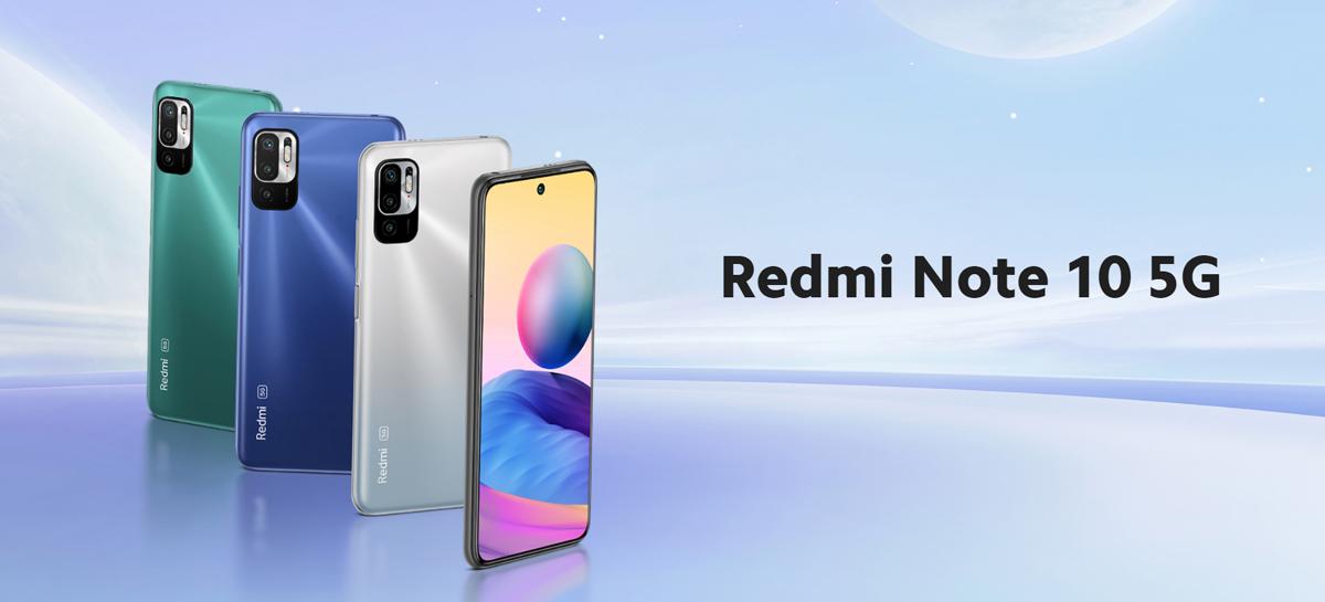 Redmi Note 10 5G é lançado no Brasil custando R$ 2.699