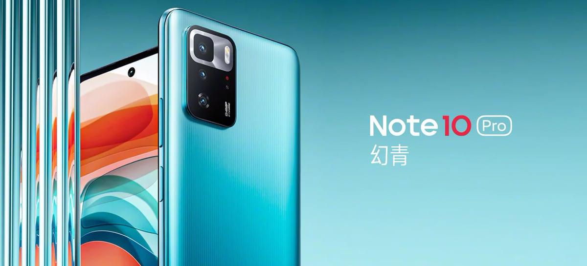 Redmi Note 10 Pro 5G é lançado com Dimensity 1100, alto-falantes JBL e mais