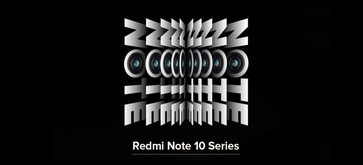 Linha Xiaomi Redmi Note 10 será anunciada oficialmente em março