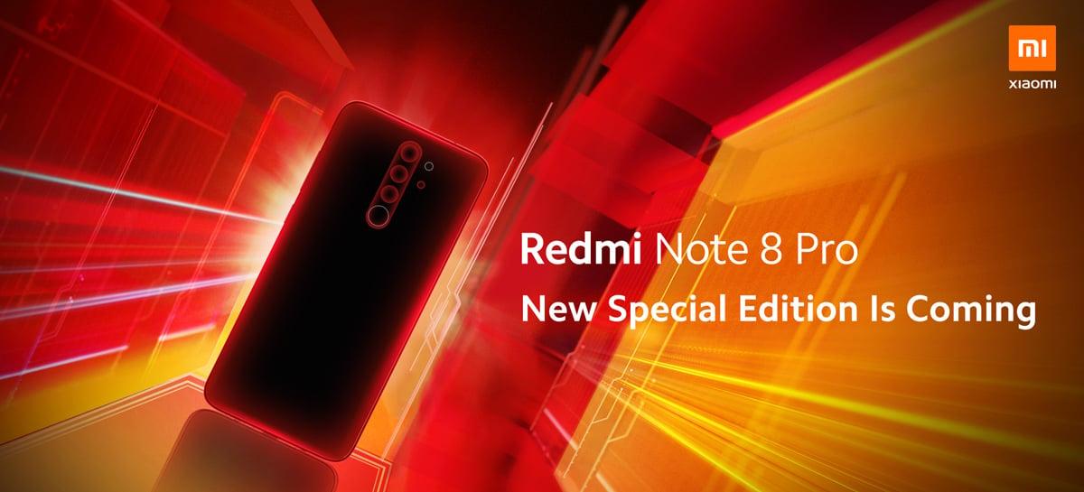 Xiaomi anuncia edição especial do Redmi Note 8 Pro na cor Coral Orange