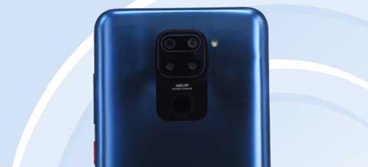 Xiaomi Redmi Note 9 é listado em certificação com 4 câmeras traseiras