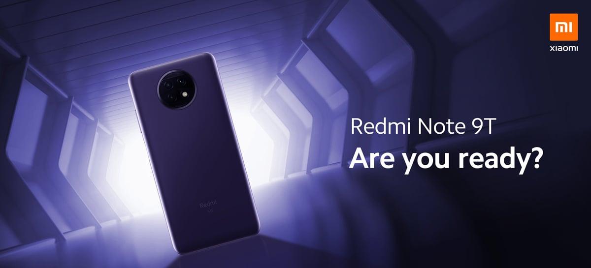 Redmi Note 9T pode ser anunciado no dia 8 de janeiro com SoC MediaTek