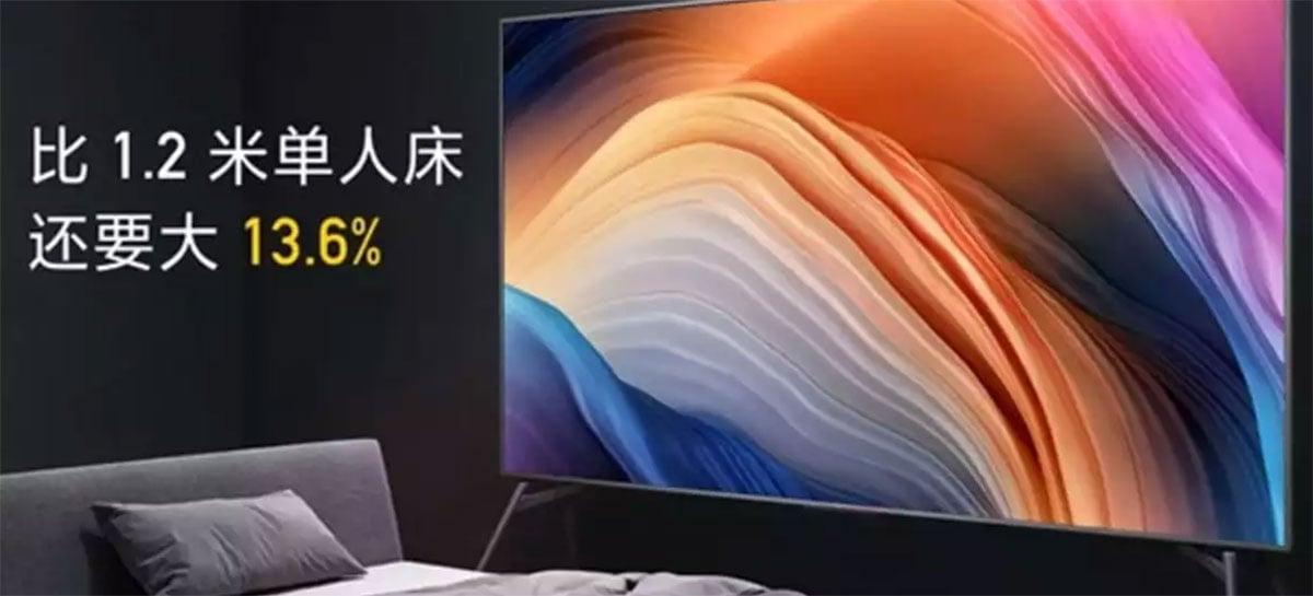 Xiaomi lança Redmi Smart TV Max de 98 polegadas por $2825