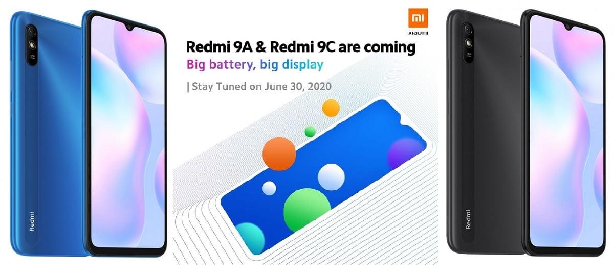 Veja imagens vazadas dos Redmi 9A e Redmi 9C que serão lançados amanhã (30)
