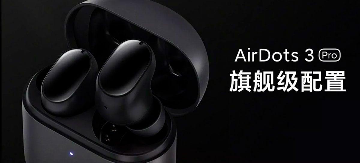 Redmi AirDots 3 Pro chega com cancelamento de ruído e baixa latência