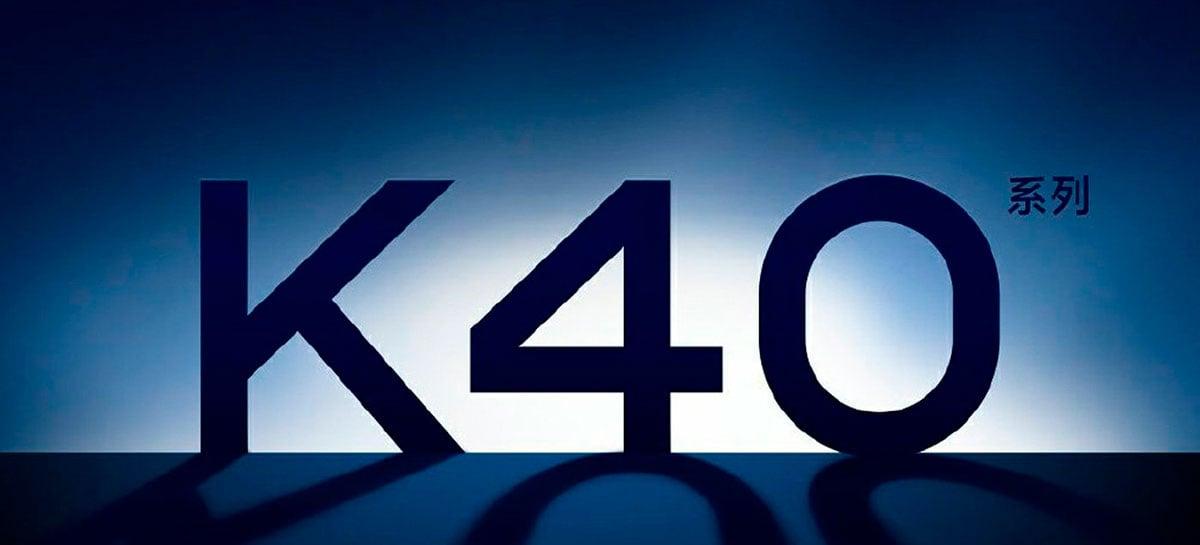 Redmi K40 com Snapdragon 888 será apresentado oficialmente no dia 25 de fevereiro