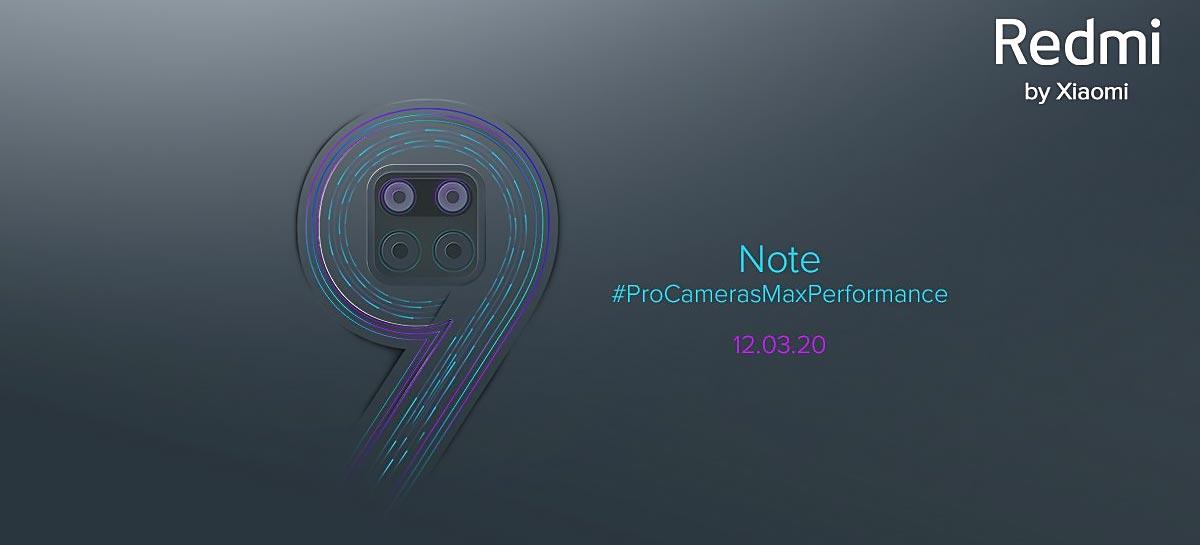 Redmi Note 9 Pro terá quatro câmeras, bateria de 5020mAh e mais [Rumor]